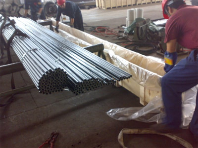 Seamless carbon heat-exchanger tube ASTM A179